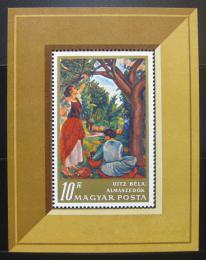 Poštovní známka Maïarsko 1967 Umìní  Mi# Block 61