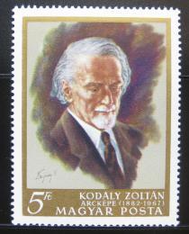 Poštovní známka Maïarsko 1968 Zoltan Kodaly Mi# 2396