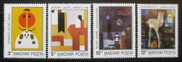 Poštovní známky Maïarsko 1989 Moderní umìní Mi# 4056-59