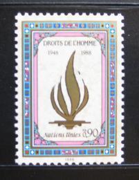 Poštovní známky OSN Ženeva 1988 Vyhlášení lidských práv, 40. výroèí Mi# 171