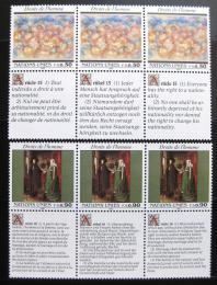 Poštovní známky OSN Ženeva 1991 Lidská práva Mi# 208-09