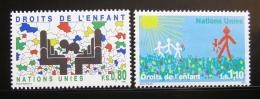 Poštovní známky OSN Ženeva 1991 Dìtská práva Mi# 202-03
