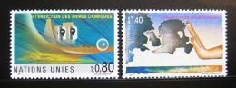Poštovní známky OSN Ženeva 1991 Zákaz chemických zbraní Mi# 204-05