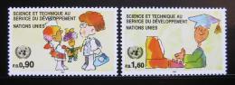 Poštovní známky OSN Ženeva 1992 Vìda a technologie Mi# 221-22 - zvìtšit obrázek