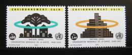 Poštovní známky OSN Ženeva 1993 WHO, 45. výroèí Mi# 231-32