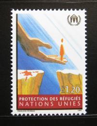 Poštovní známka OSN Ženeva 1994 Ochrana uprchlíkù Mi# 249