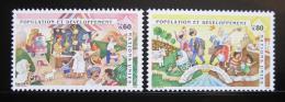 Poštovní známky OSN Ženeva 1994 Populace a její rozvoj Mi# 254-55