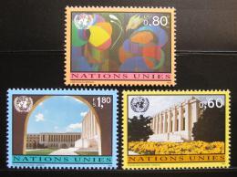 Poštovní známky OSN Ženeva 1994 Rùzná témata Mi# 256-58