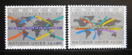 Poštovní známky OSN Ženeva 1994 UNCTAD, 30. výroèí Mi# 259-60
