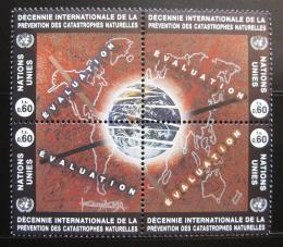 Poštovní známky OSN Ženeva 1994 Obrana pøed katastrofami Mi# 250-53