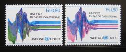Poštovní známky OSN Ženeva 1979 UNDRO Mi# 81-82