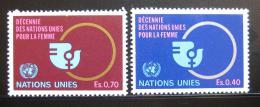 Poštovní známky OSN Ženeva 1980 Dekáda žen Mi# 89-90