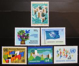 Poštovní známky OSN Vídeò 1979 Symboly Mi# 1-6