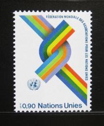 Poštovní známka OSN Ženeva 1976 WFUNA, 30. výroèí Mi# 57