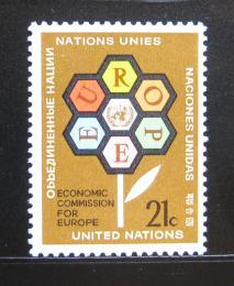 Poštovní známka OSN New York 1972 Ekonomická komise ECE Mi# 251