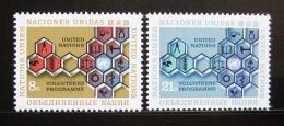 Poštovní známky OSN New York 1973 Program dobrovolníkù Mi# 258-59