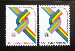 Poštovní známky OSN New York 1976 WFUNA, 30. výroèí Mi# 293-94