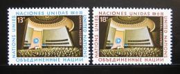 Poštovní známky OSN New York 1978 Valná hromada Mi# 324-25