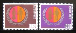 Poštovní známky OSN Ženeva 1975 Mezinárodní rok žen Mi# 48-49 - zvìtšit obrázek