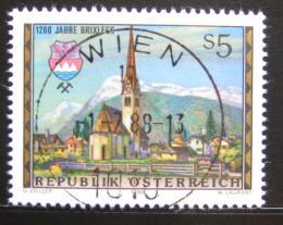 Poštovní známka Rakousko 1988 Brixlegg, 1200. výroèí Mi# 1929