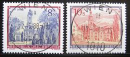 Poštovní známky Rakousko 1988 Kláštery roèník Mi# 1915,1925