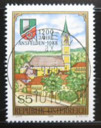 Poštovní známka Rakousko 1988 Ansfelden, 1200. výroèí Mi# 1935