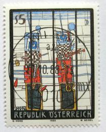 Poštovní známka Rakousko 1988 Moderní umìní Mi# 1938