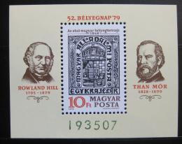 Poštovní známka Maïarsko 1979 Den známek Mi# Block 138