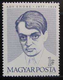 Poštovní známka Maïarsko 1977 Endre Ady, básník Mi# 3242