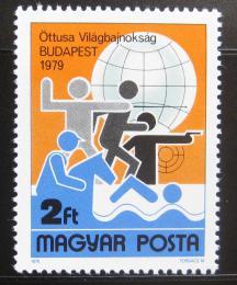 Poštovní známka Maïarsko 1979 MS v moderním pìtiboji Mi# 3370