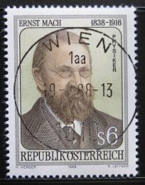 Poštovní známka Rakousko 1988 Ernst Mach, lékaø Mi# 1911