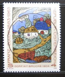 Poštovní známka Rakousko 1988 Umìní, Franz von Zülow Mi# 1912