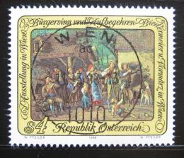 Poštovní známka Rakousko 1988 Umìní, Ferdinand G. Waldmüller Mi# 1913