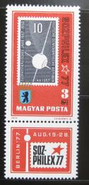 Poštovní známka Maïarsko 1977 Výstava SOZPHILEX Mi# 3208