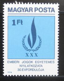 Poštovní známka Maïarsko 1979 Lidská práva Mi# 3334