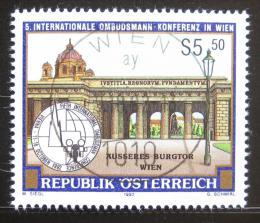 Poštovní známka Rakousko 1992 Konference ombudsmanù Mi# 2076