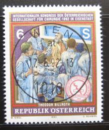 Poštovní známka Rakousko 1992 Kongres chirurgù Mi# 2069