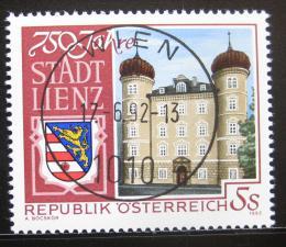 Poštovní známka Rakousko 1992 Linec, 750. výroèí Mi# 2070