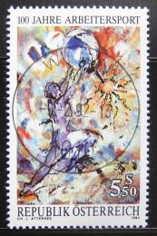 Poštovní známka Rakousko 1992 Sporty dìlníkù Mi# 2052