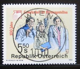 Poštovní známka Rakousko 1992 Uøedníci privátního sektoru Mi# 2049