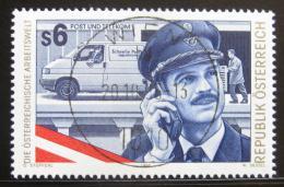 Poštovní známka Rakousko 1995 Poštovní úøedník Mi# 2173