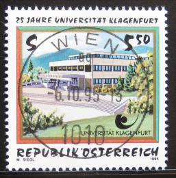 Poštovní známka Rakousko 1995 Univerzita Klagenfurt Mi# 2171