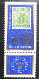 Poštovní známka Maïarsko 1974 Výstava Stockholmia Mi# 2981