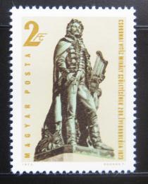Poštovní známka Maïarsko 1973 Mihaly Csokonai Vitez, básník Mi# 2915