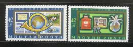 Poštovní známky Maïarsko 1972 Poštovní muzeum Mi# 2813-14