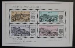 Poštovní známky Maïarsko 1971 Buda Mi# Block 79