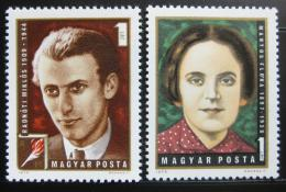 Poštovní známky Maïarsko 1972 Slavní Maïaøi Mi# 2815-16