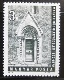 Poštovní známka Maïarsko 1972 Portál kostela Mi# 2741