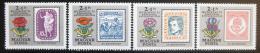 Poštovní známky Maïarsko 1971 Výroèí první známky Mi# 2684-87