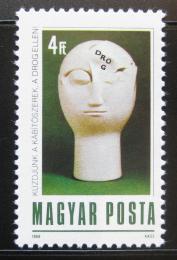 Poštovní známka Maïarsko 1988 Boj proti drogám Mi# 3971